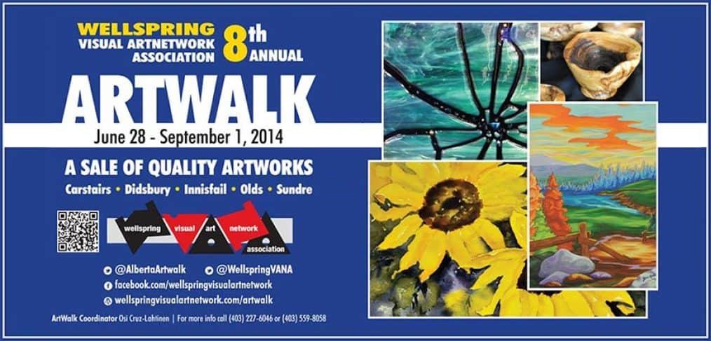 ArtWalk 2014 Postcard
