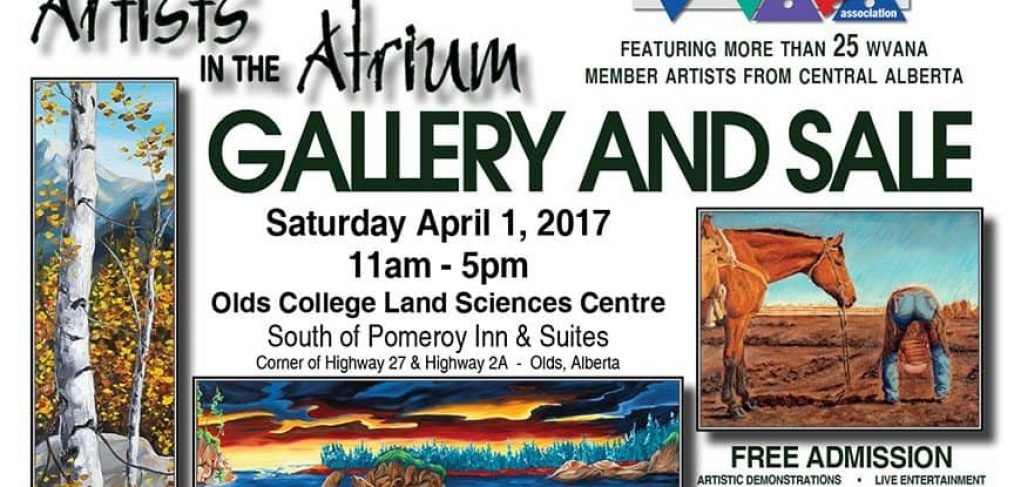 Artists in the Atrium Show